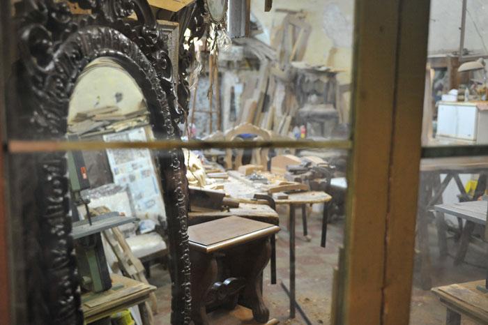L 39 uso del legno nei mestieri e nell 39 artigianato salentino for Progettazione di mobili lavorazione del legno