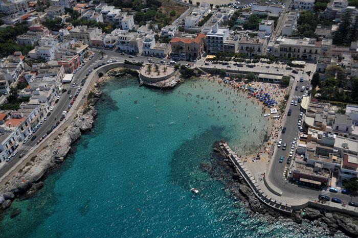 Itinerario turistico lungo le coste del salento dall - Lido santa maria al bagno ...