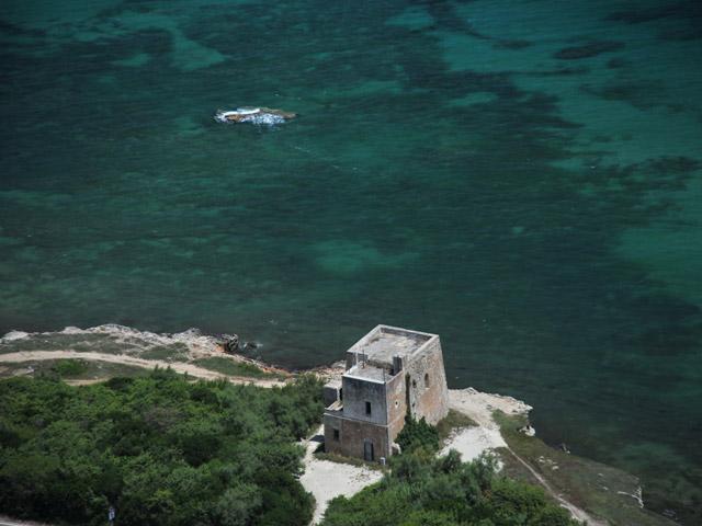 Torre Specchia Ruggeri e' situata sulla costa adriatica della penisola salentina.