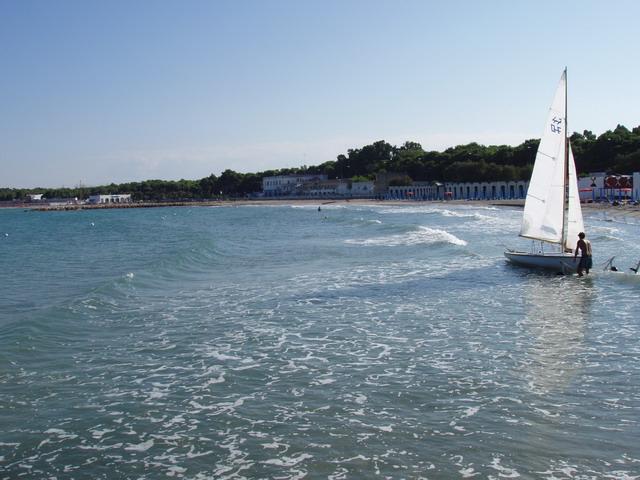 San Cataldo localita' balneare del Mare Adriatico, situata in provincia di Lecce nel Salento.
