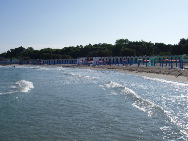San Cataldo e' marina di Lecce, dotata di mare cristallino e invcantevoli spiagge.