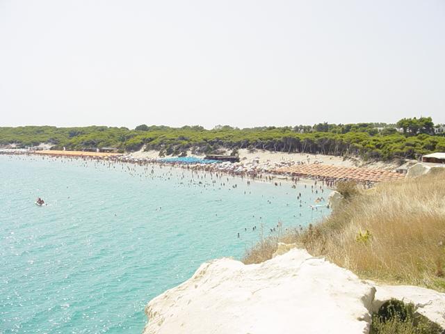 Torre dell'Orso localita' costiera dell'alto Salento, sul versante Adriatico in Puglia.