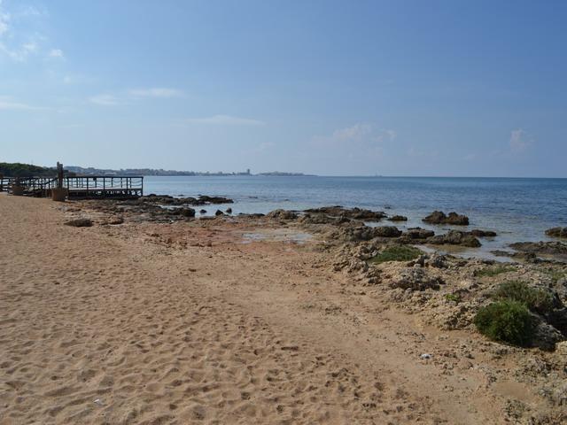 Rivabella, spiaggia di sabbia fine e mare pulito a Gallipoli