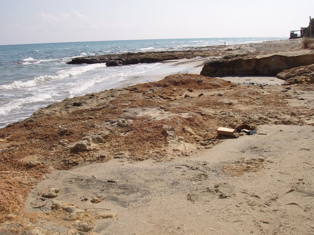 Frassanito: localita' balneare, situata sulla costa adriatica della Puglia.