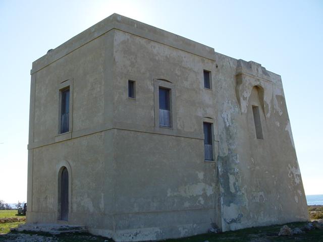 La torre costiera che da' il nome alla localita' di Torre Inserraglio