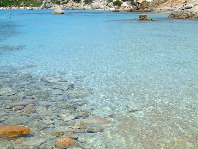 La spiaggia di Lido Pizzo  e' in parte occupata dallo stabilimento balneare, mentre, per il resto, si tratta di spiagge libere.