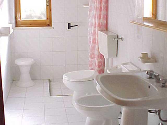 bagno con box doccia e bidet