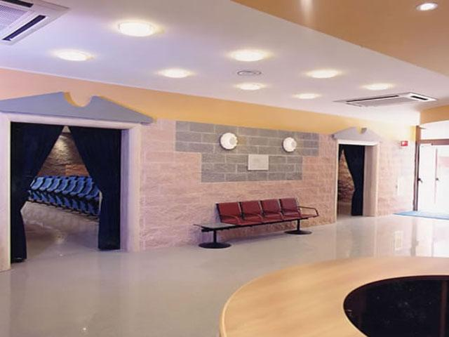 Interni del Grand Hotel Club Daniela ubicato a Otranto nel Salento