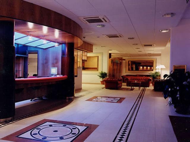 Reception del Grand Hotel Daniela categoria 4 Stelle