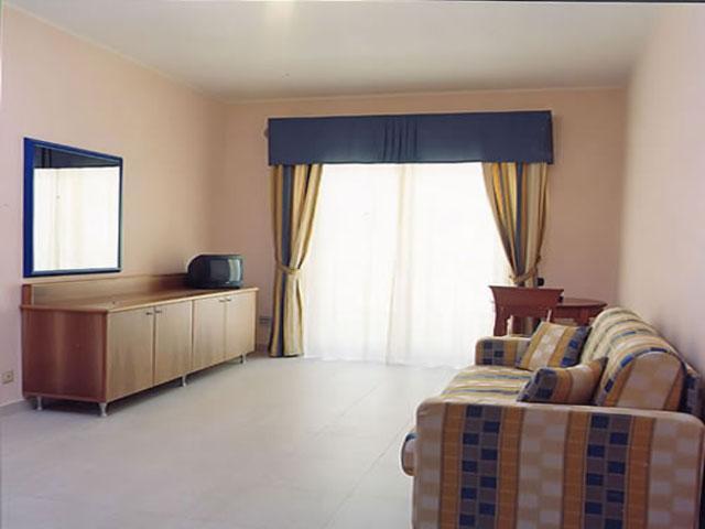 Interno degli appartamenti in affitto all'interno del Grand Hotel Daniela