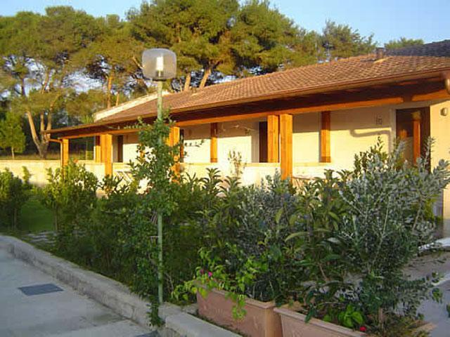 Viale esterno che porta alle camere di Masseria Fabrizio