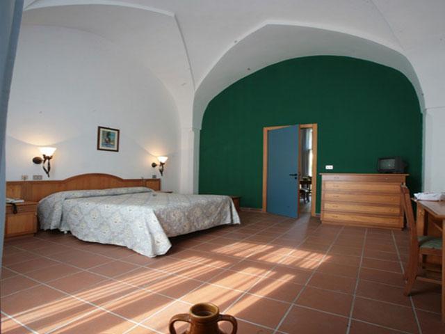 Camera standard all'interno della Masseria Borgo Cardigliano