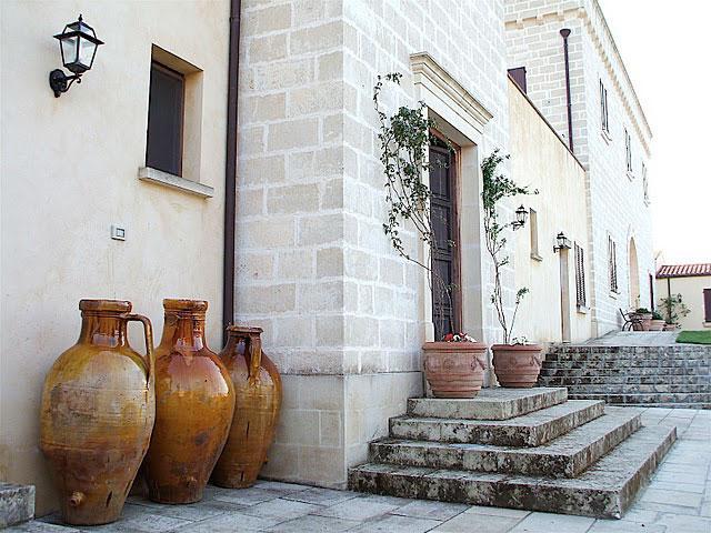 Masseria Santicuti ubicata a San Cataldo in Salento