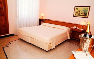 Raffinate camere dell'Hotel Bianco