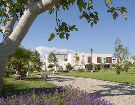 Spazi verdi del Blu Salento Village