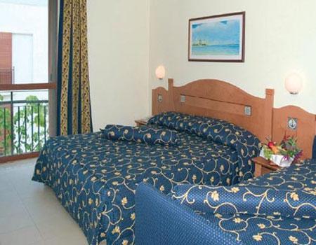 Camera da letto della casa vacanza