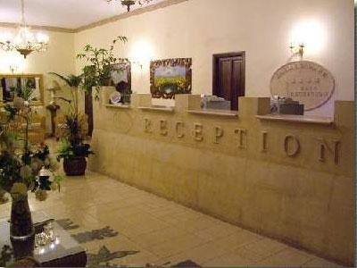 Reception dell'Hotel Resort Barone di Mare