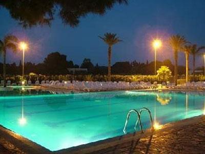 Illuminazione dell'hotel Resort Barone di Mare