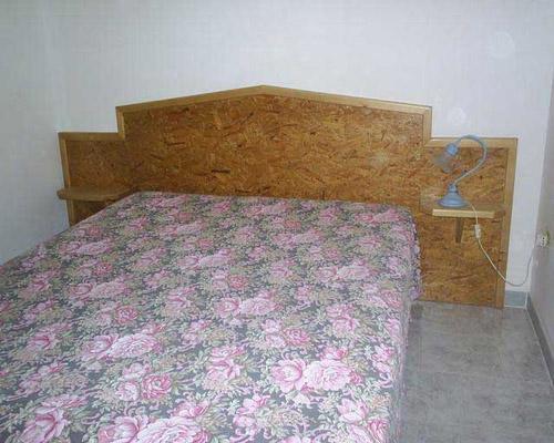 Camera matrimoniale della casa vacanza