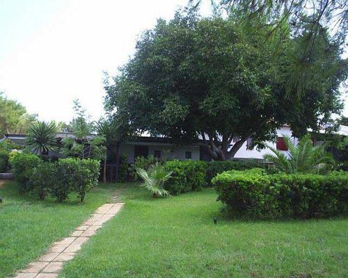 Spazio verde antistante degli appartamenti