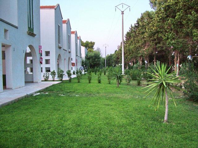 Vista degli appartamenti