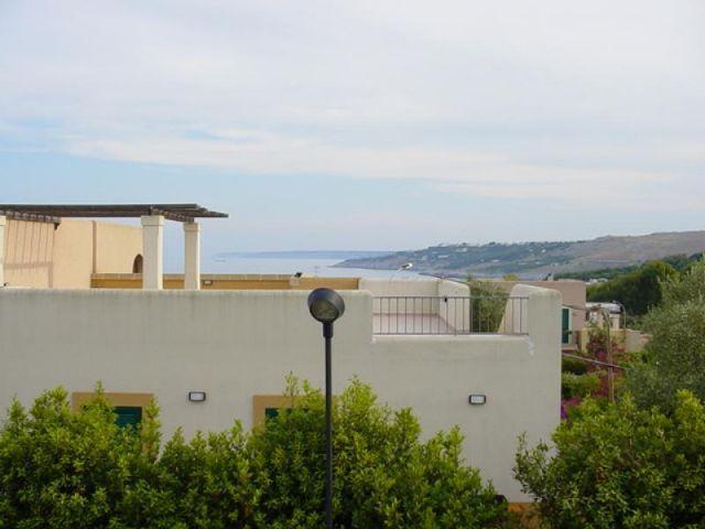 Vista del mare di Santa Cesarea Terme