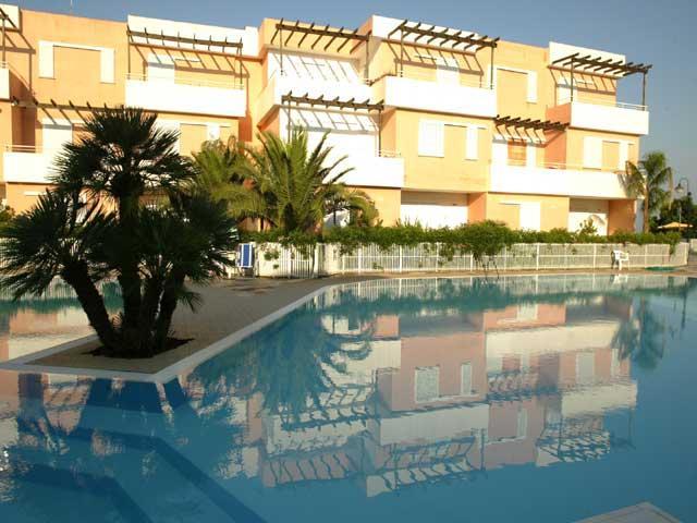 Residence con piscina