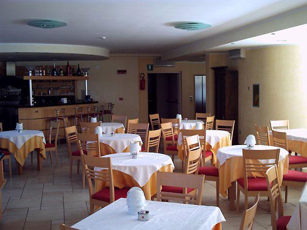 Vista del ristorante delll'Hotel