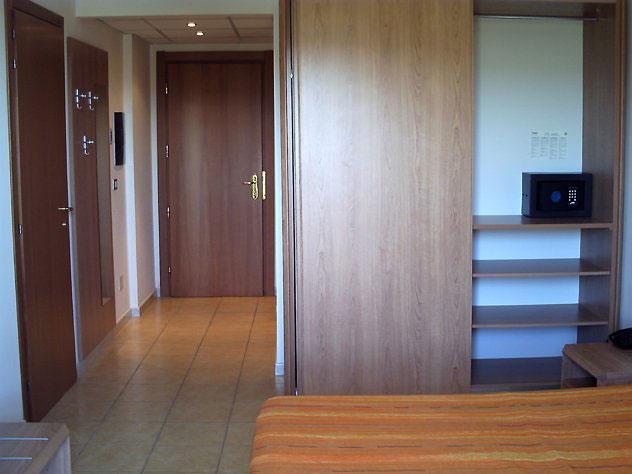 Interni delle camere dell'Hotel Pellegrino Palace