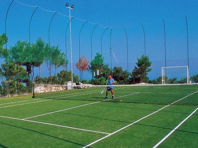 Campo da calcio presente nel villaggio