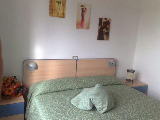 Camera da letto dotata di ogni comfort