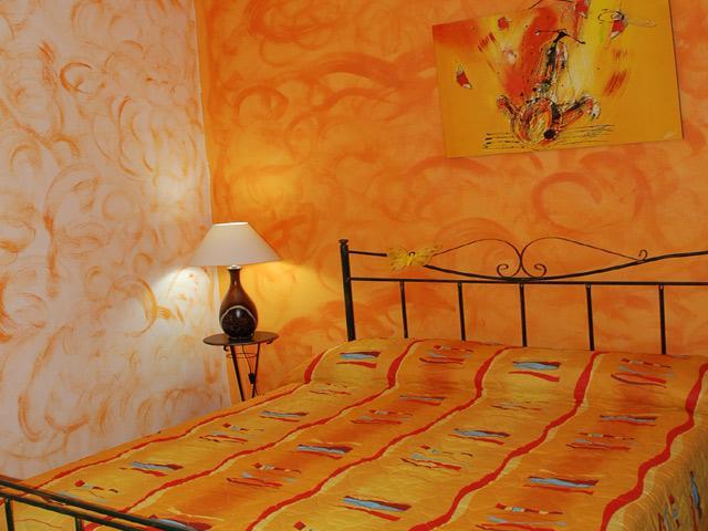 Camera da letto matrimoniale del secondo trilocale