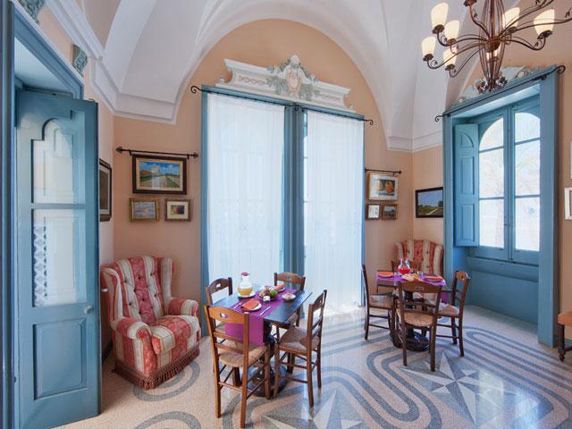 Interni accoglienti del Residence Villa Raffaella