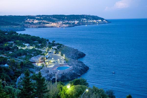 Vista panoramica dell'hotel