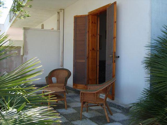 Spazio antistante la casa vacanza sita a Torre dell'Orso