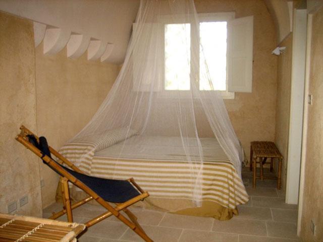 Interni della camera da letto matrimoniale