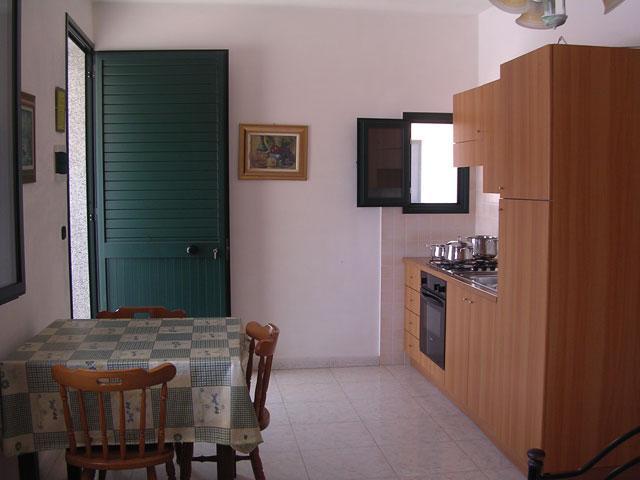 Sala da pranzo di uno degli appartamenti