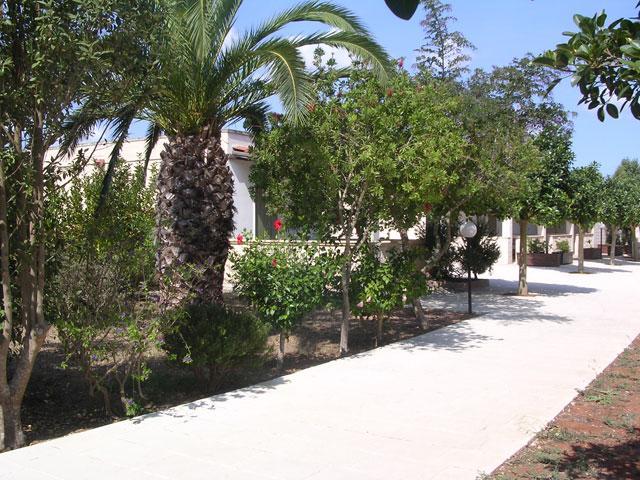 Viali del residence La Pineta a Frassanito