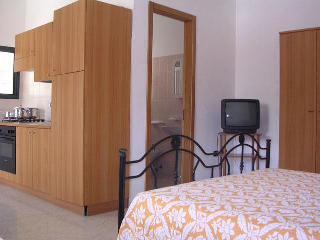 Vista degli interni delle camere da letto
