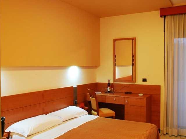 Camere da letto dell'Hotel Club Astor
