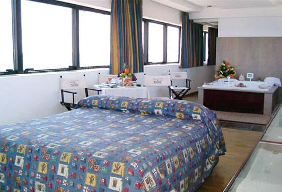 Camere da letto dell'Hotel Bellavista