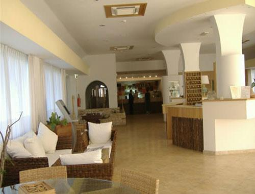 Sala relax e bar dell'Hotel