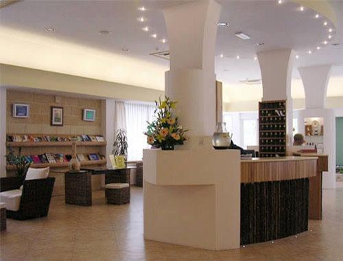 Interni dell'Hotel, reception e hall
