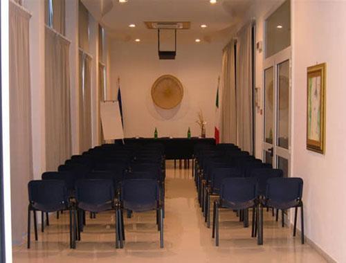 Sala congressi dell'Hotel