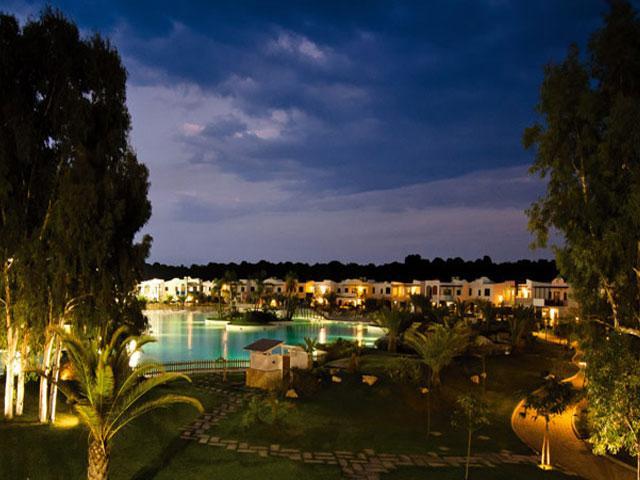 Illuminazione serale del Villaggio dei Turchesi