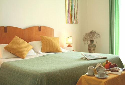Eleganti camere dell'Hotel Mediterraneo