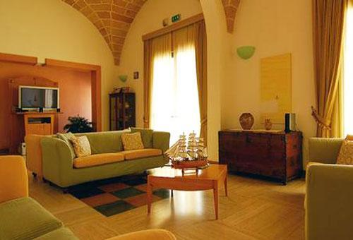 Salottini del Grand Hotel Mediterraneo