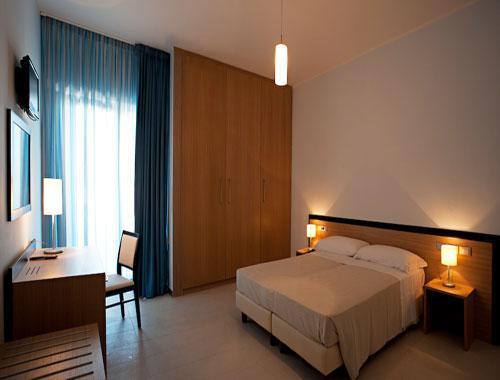 Eleganti camere dell'Hotel Club Azzurro
