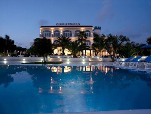 Vacanze all'interno dell'Hotel Club Azzurro