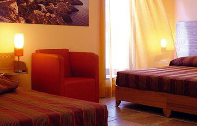 Lussuose camere dell'Hotel